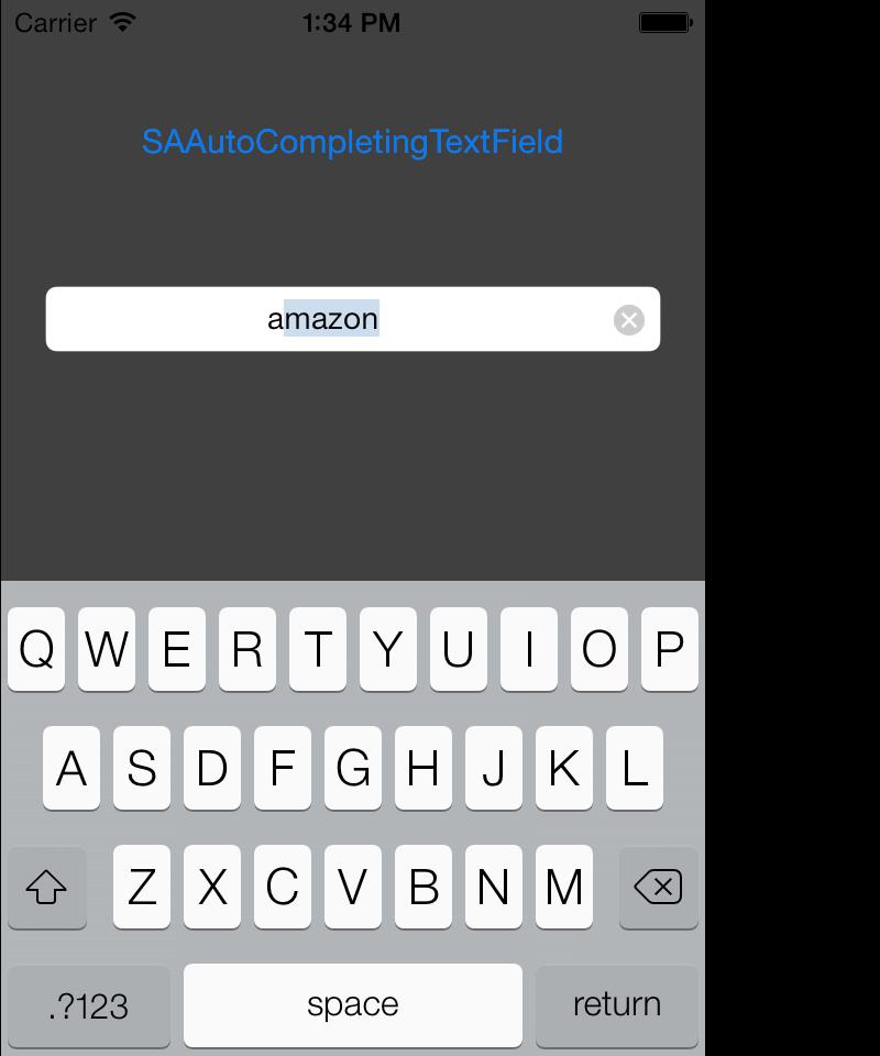 SAAutoCompletingTextField Screenshot