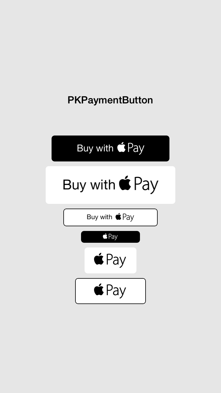 PKPaymentButton
