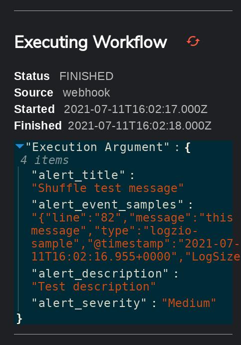 Extend Shuffle with Logz.io 3