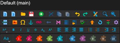 Main Icon Theme Dark