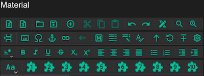 Material Icon Theme Dark
