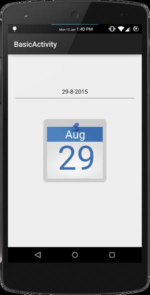 Nano Mobile: [Library] Dynamic Calendar Icon Generator topic