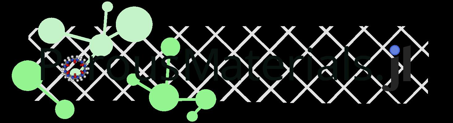 PorousMaterials.jl logo