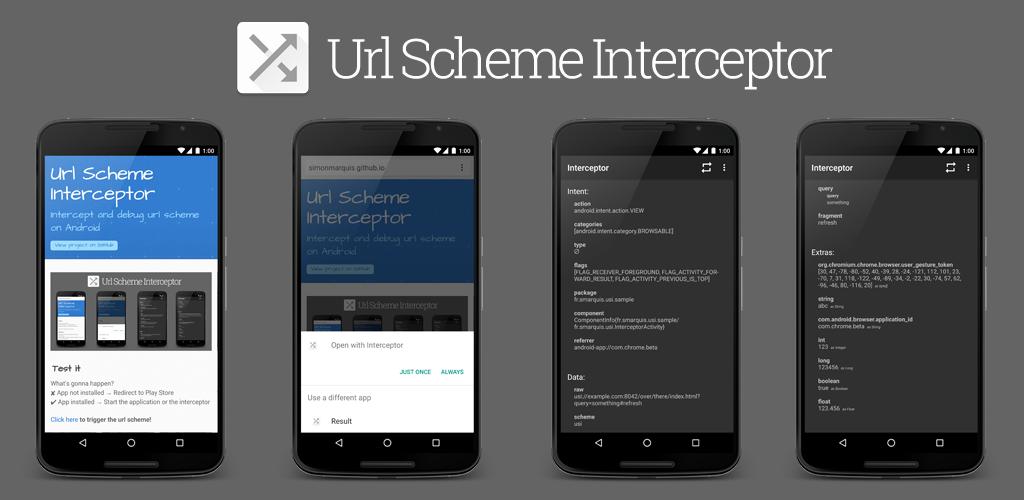 Android-UrlScheme Interceptor