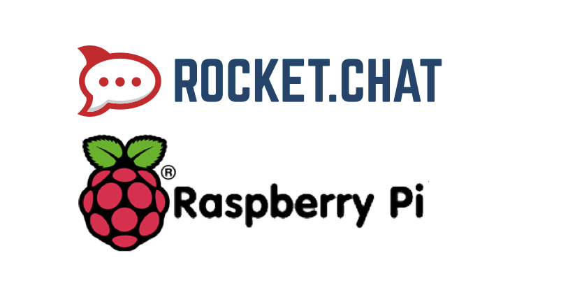 Rocket.Chat on Pi Logo