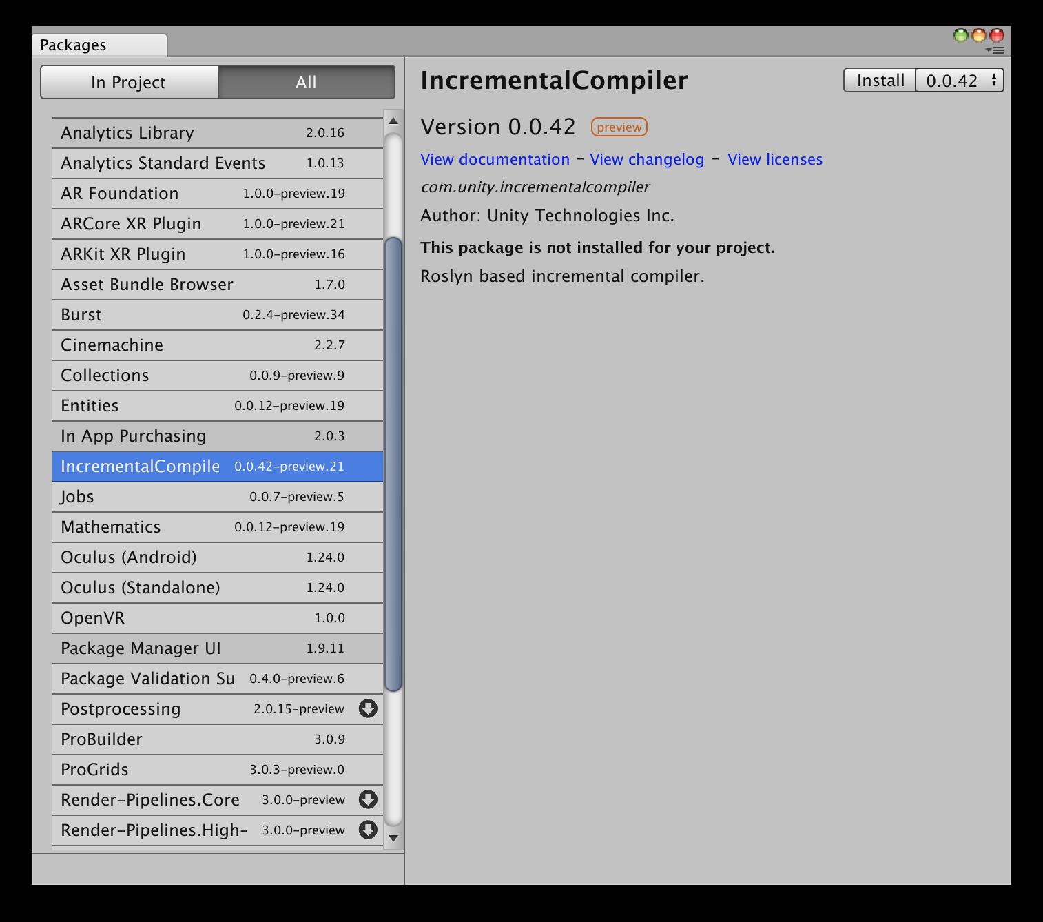 Incremental Compiler