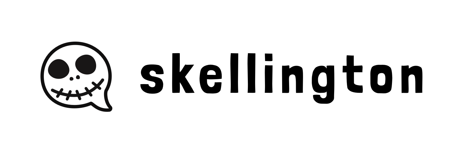 Skellington: the logo is jack the chat bubble, get it???