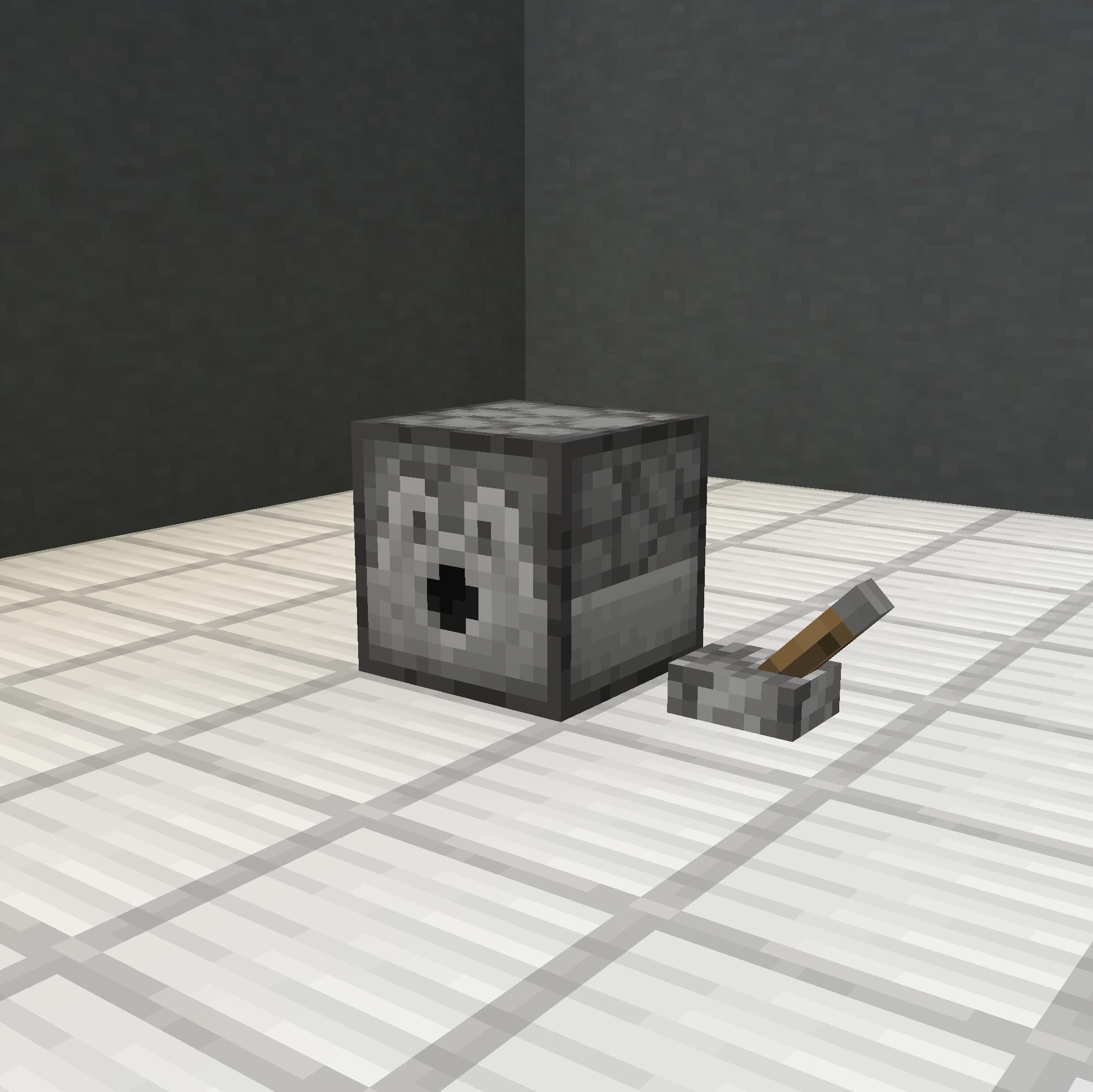 Block Placer Powering