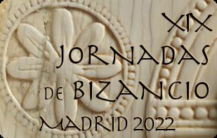 botón XIX Jornadas de Bizancio - Madrid 2022