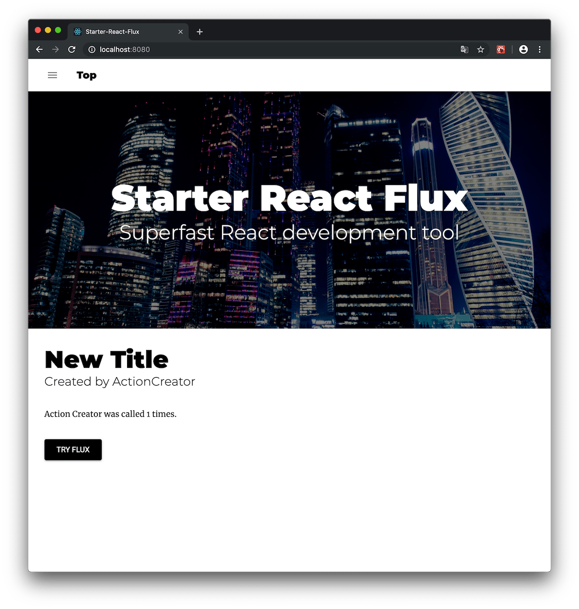 starter-react-flux - npm