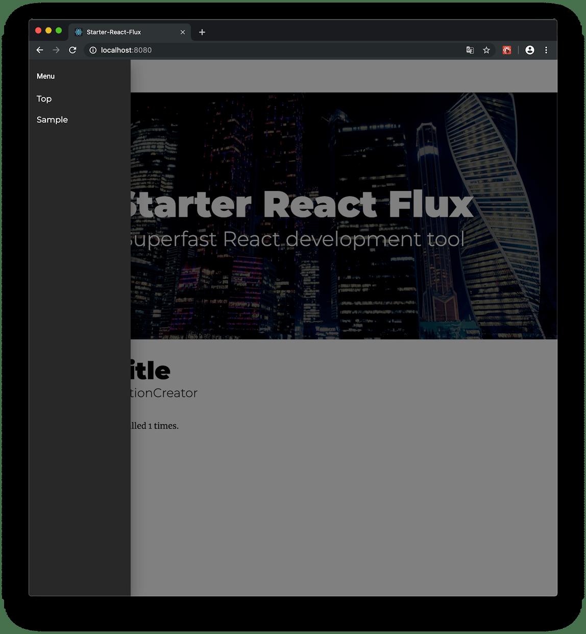 starter-react-flux - npm