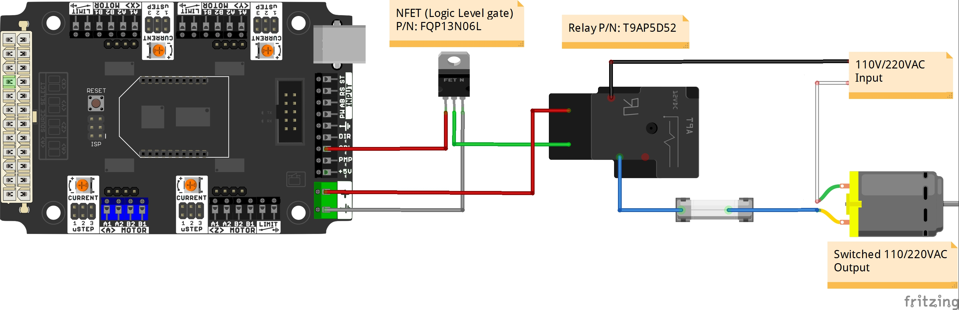 Buffered Output (N-MOSFET)