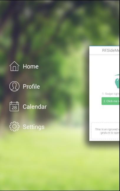 معرفی کتابخانه AndroidResideMenu برای ساخت منوی کشویی سه بعدی در اندروید_HamyarAndroid.com_1