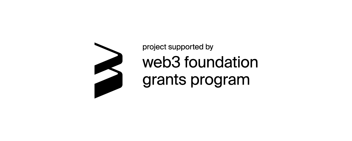 project supported by web3 foundation grants program