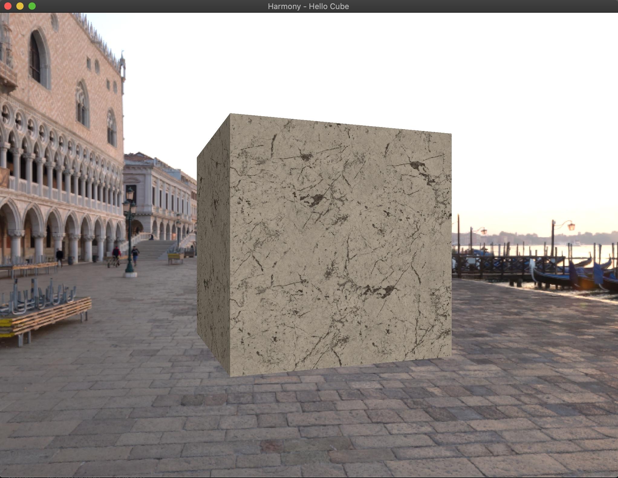 Hello Cube