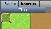 Top-left tile
