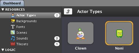 Actor Types