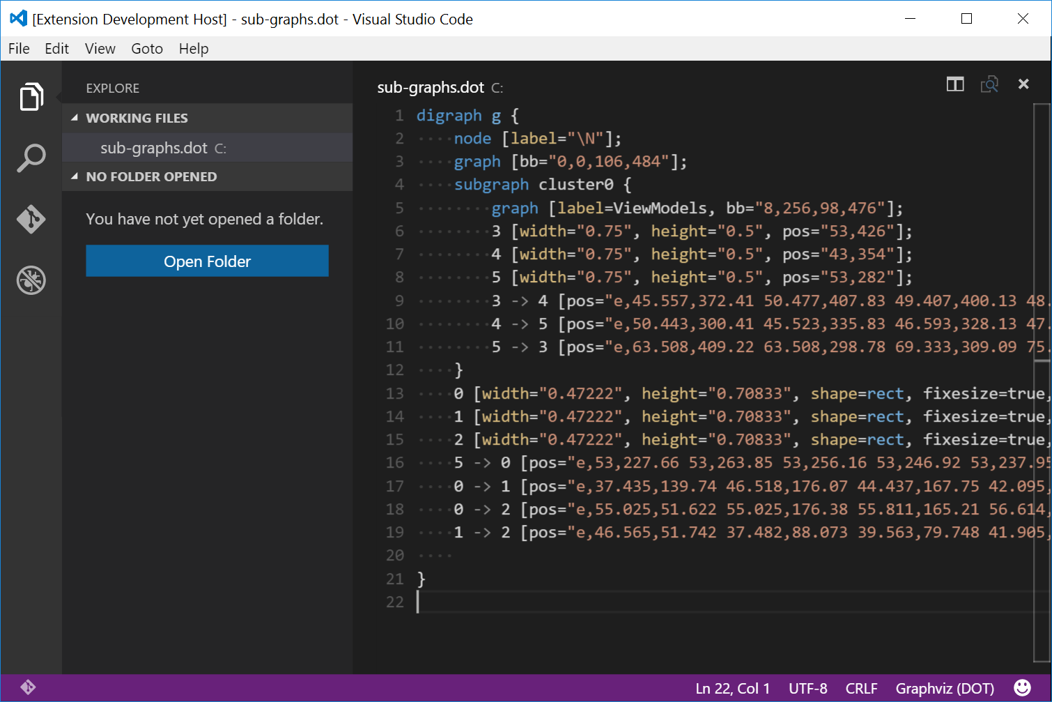 Preview of Syntax Highlighting