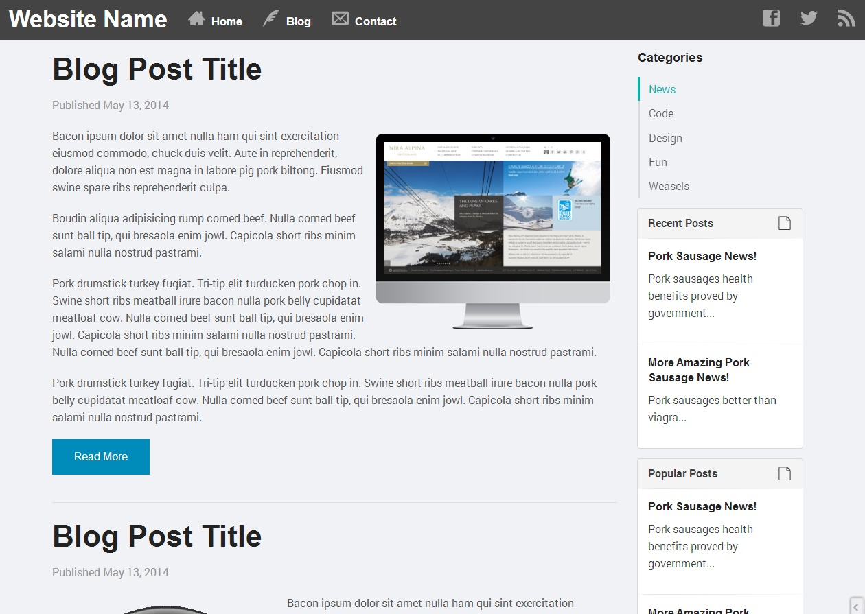 blog html templates tradinghub co