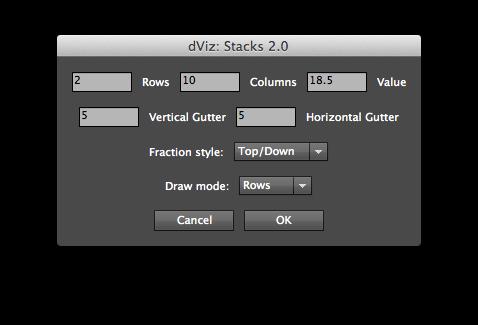 Stacks script GUI