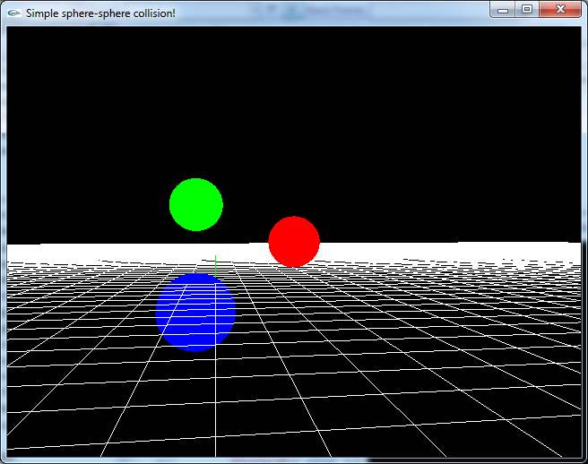 Simple Sphere-Sphere Collision Detection and Collision Response