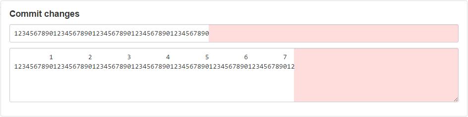 GitHub Commit Limit screenshot