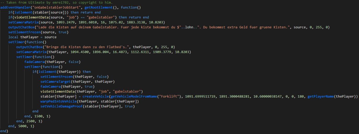 Server Syntax Highlighting