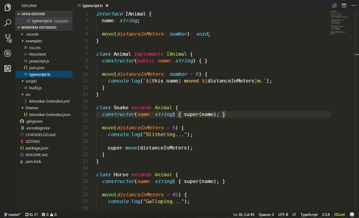 TypeScript Screenshot