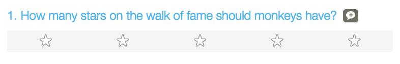 emoji (star rating)