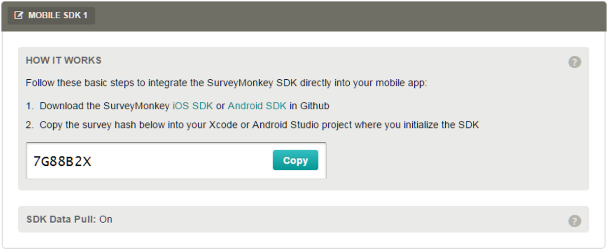 GitHub - SurveyMonkey/surveymonkey-ios-sdk: The SurveyMonkey Mobile