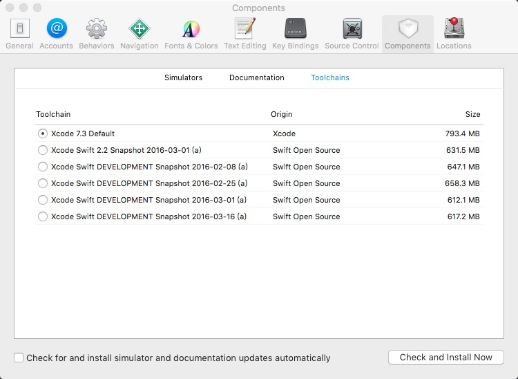 Xcode_Select_Swift_Version