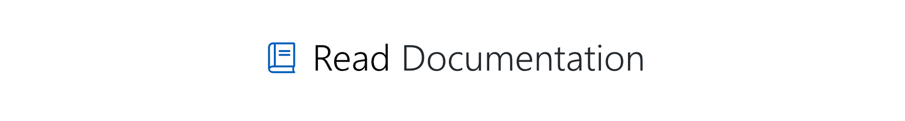 Read Documentation
