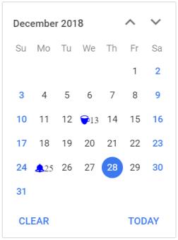 Blazor Calendar