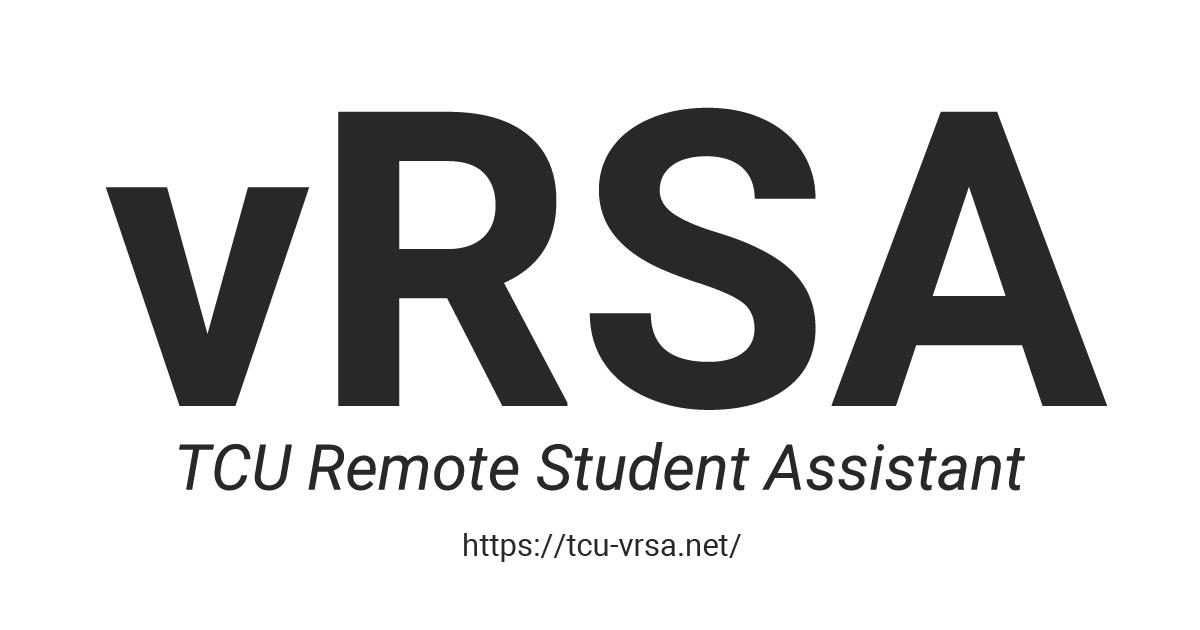 TCU-vRSAとは何だったのか