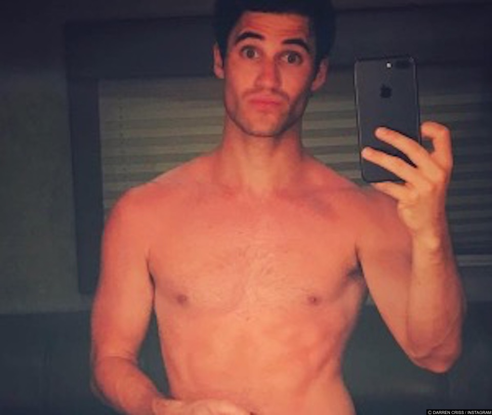Darren Criss Goes Completely Nude in NSFW Pic From the 'Versace' Set!