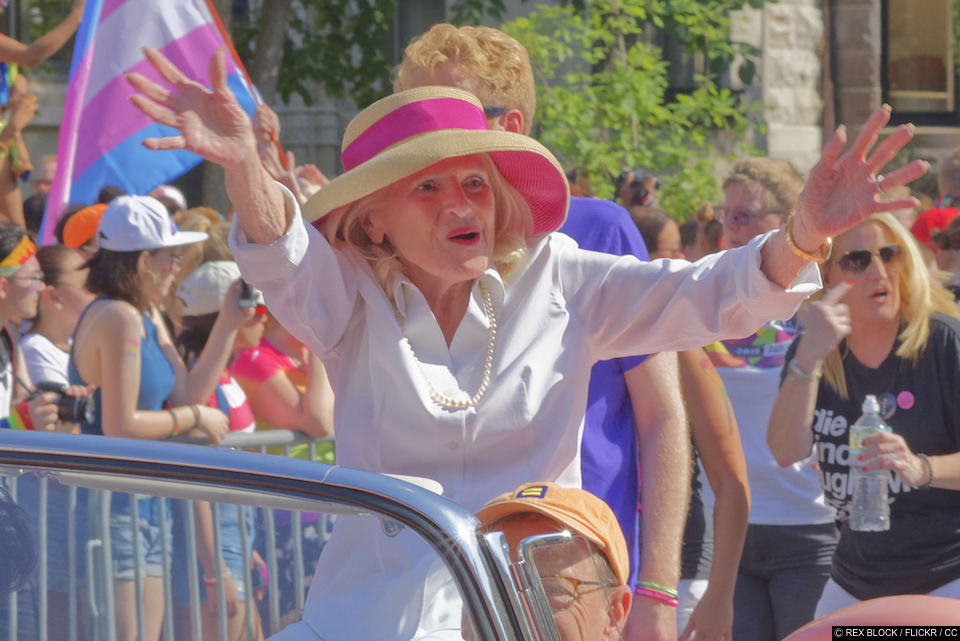 LGBT activist Edith Windsor dies at 88