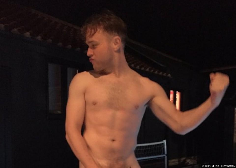 Olly Murs naked