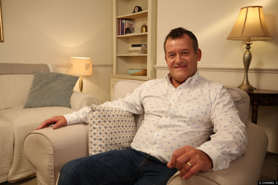 When is In Therapy with Paul Burrell on Channel 5?