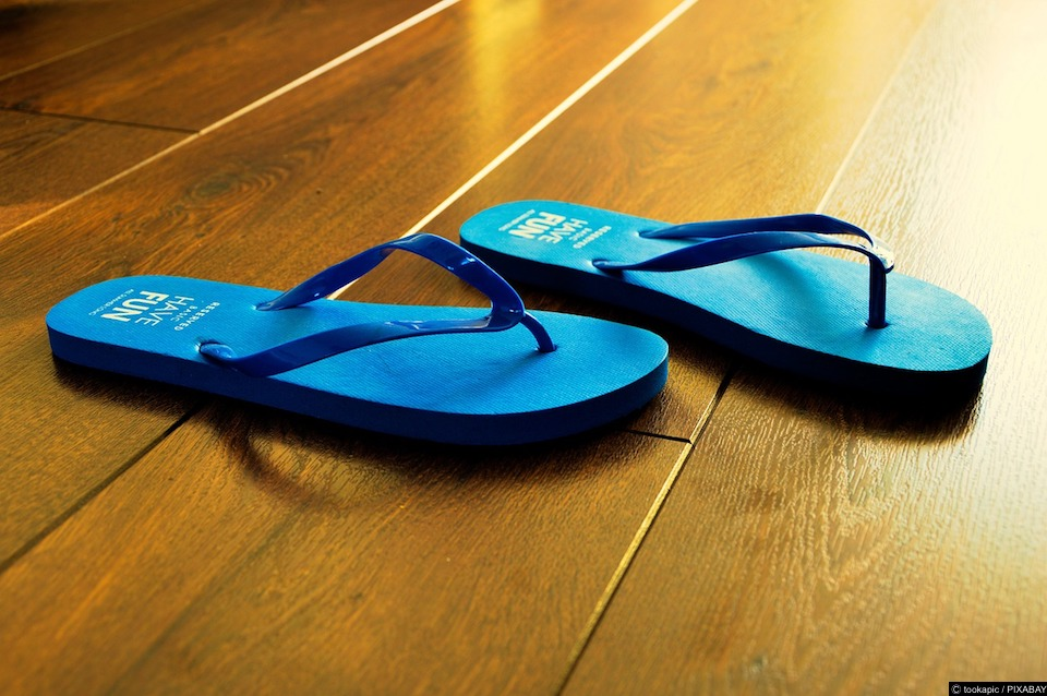 Three things to remember if you're going to wear flip flops