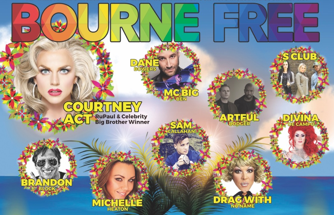 Who is performing at Bournemouth Pride
