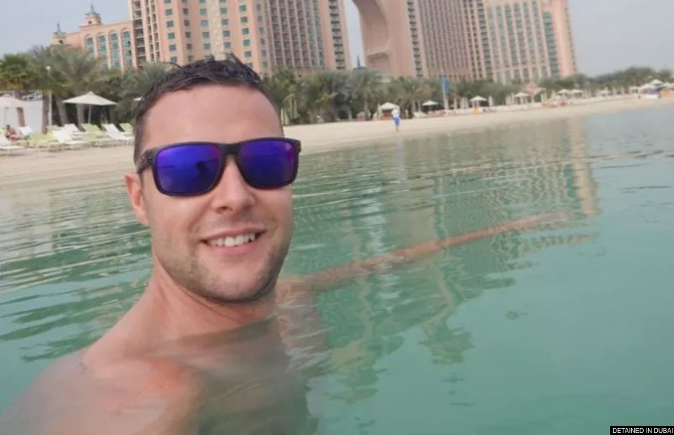 Scot in Dubai faces jail for touching hip