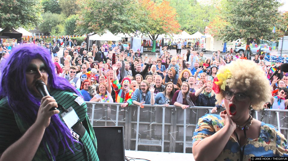 Worcestershire celebrates first ever pride as hundreds attend colourful festival