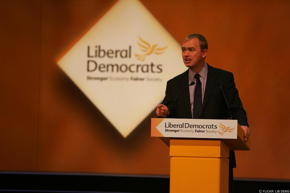 Tim Farron quits the Lib Dem leadership