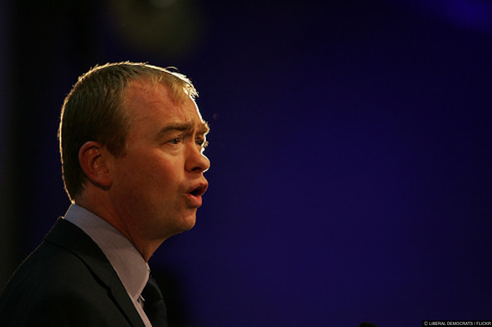 Tim Farron refuses to answered on whether being gay is a sin