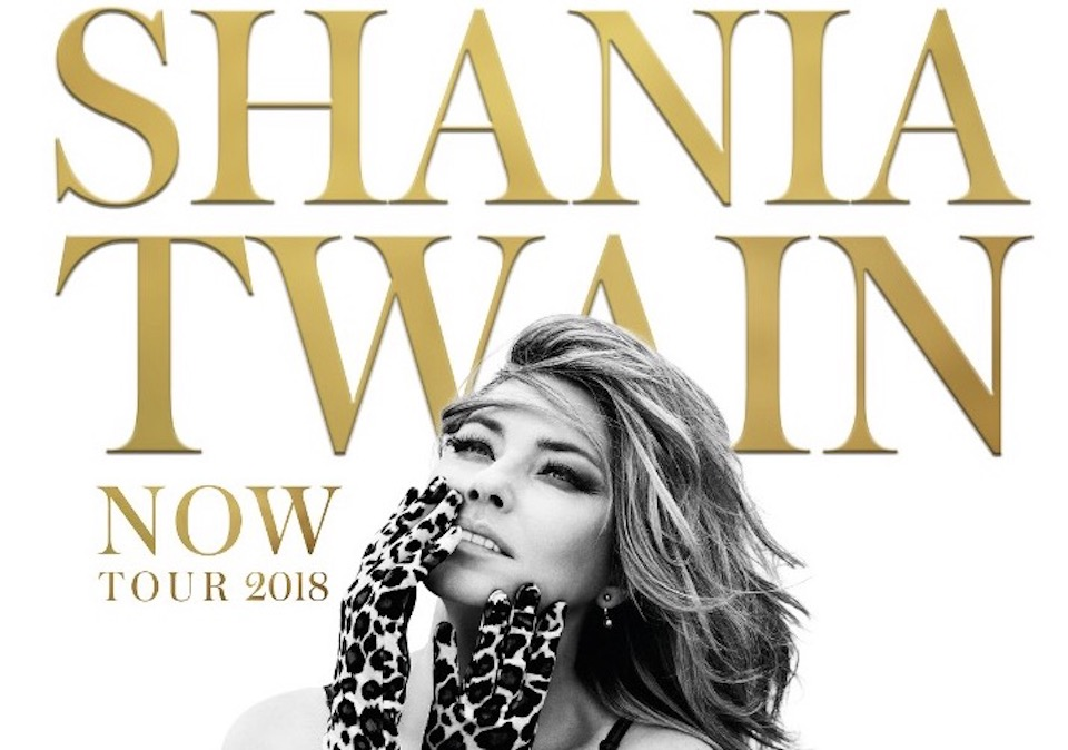 Shania Twain Announces UK and Ireland Tour