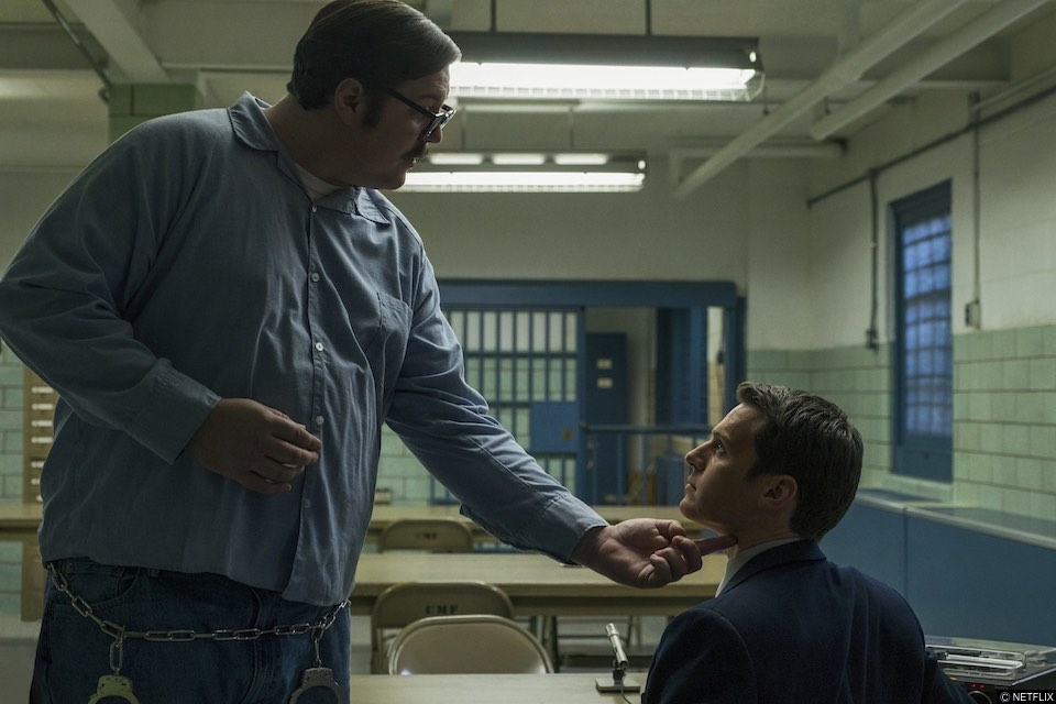 Looking actor Jonathan Groff stars in the Netflix drama Mindhunter