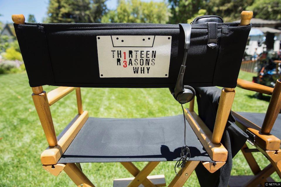 Behind The scenes at 13 Reasons Why season 1