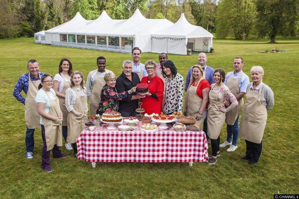Guess what starts tonight... GBBO - and we're all over it