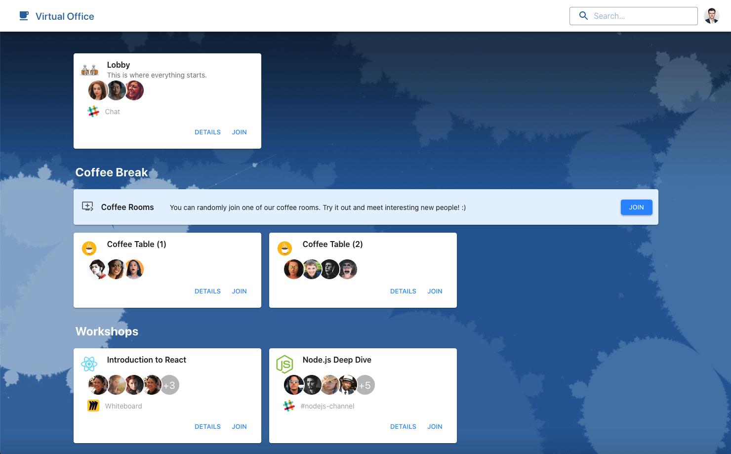 Virtual Office Screenshot