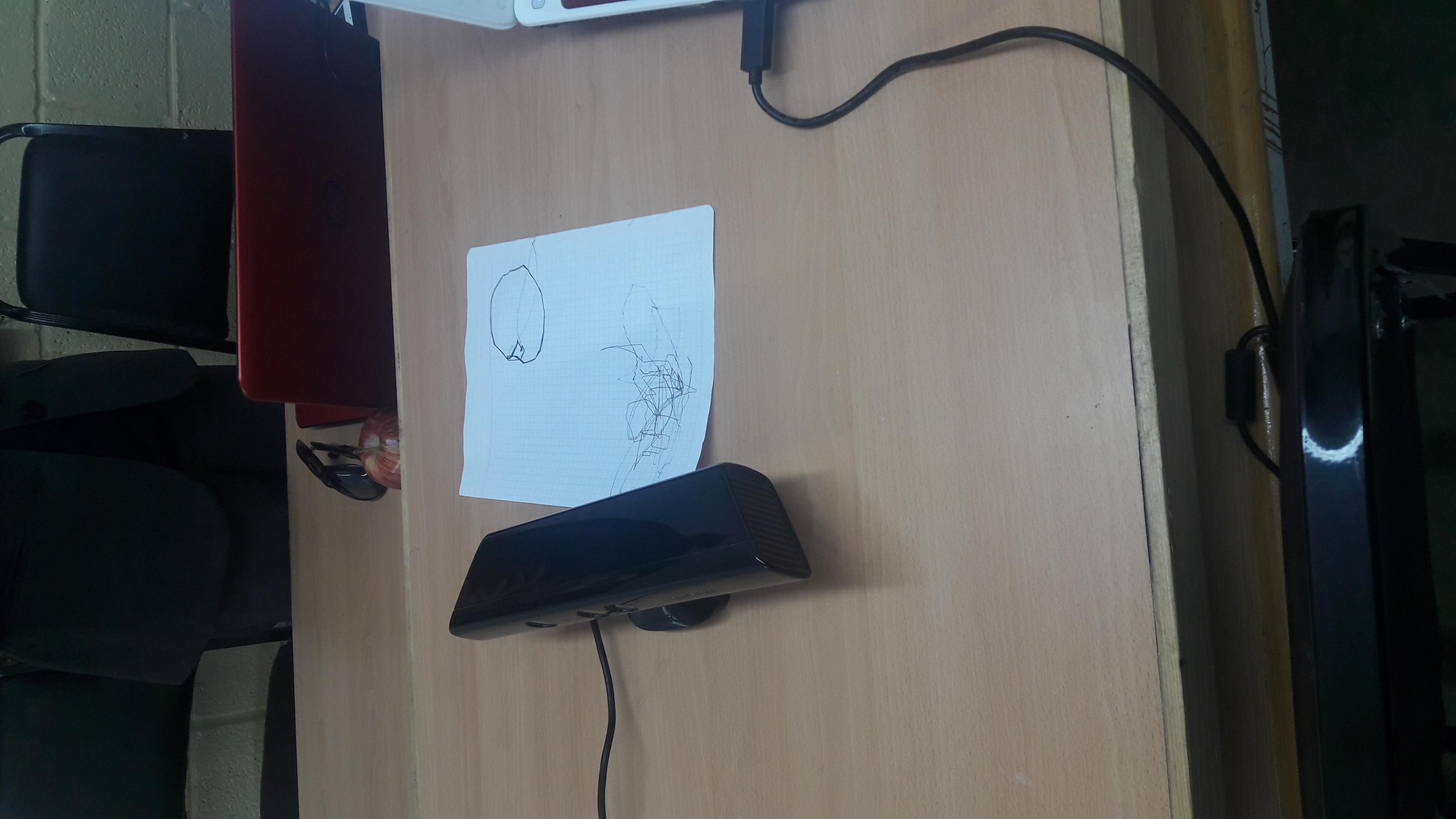 GitHub - TOTON95/Arduino_Drawing_Robot_OpenCV_OpenNI: Drawing Robot